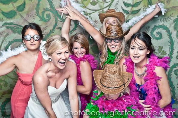 A Kiawah Island Wedding Photobooth