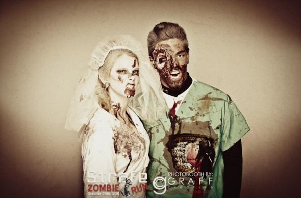 Strafe Zombie Run Photobooth | 2011