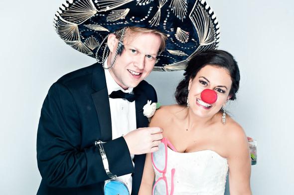 Nicole & Rhett | A Charlotte Wedding Photobooth