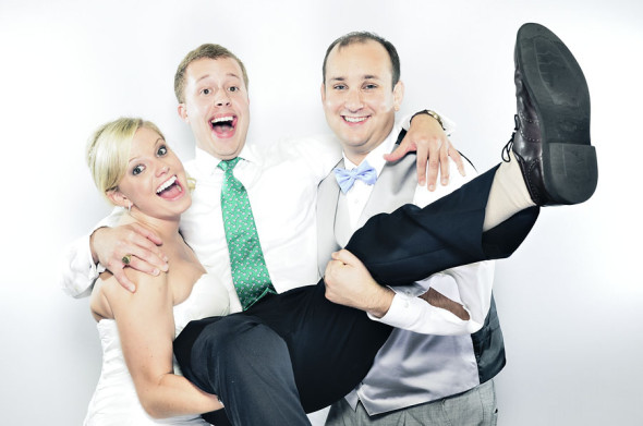 Chantal & Elliot | A Greensboro Wedding Photobooth