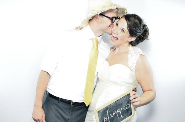 Hayley & Ted | A Fearrington Wedding Photobooth
