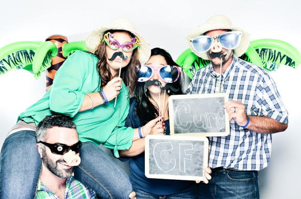 Air & Earth 10th Birthday Party & Cystic Fibrosis Fundraiser Photobooth