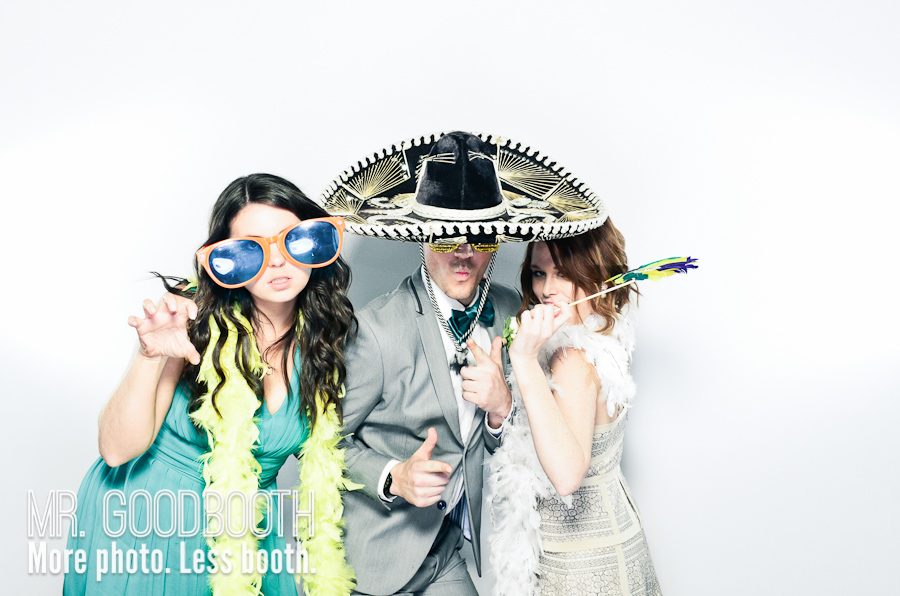 Ginny & Ben - Wedding Photo Booth