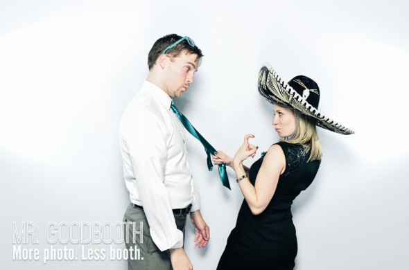 Ginny & Ben - Wedding Photo Booth
