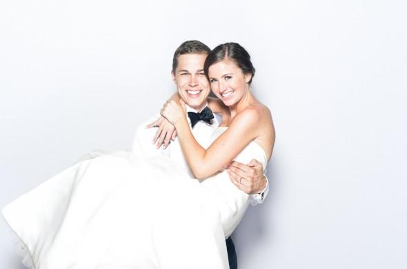 Amy & Corey | A Fearrington Wedding Photobooth