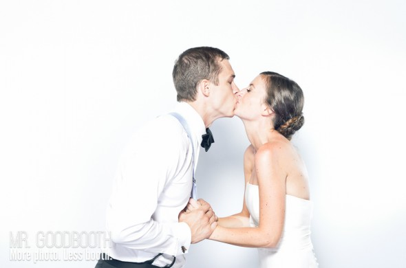 Raleigh Wedding Photobooth | Amy & Corey | Mr. Goodbooth