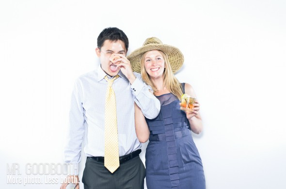 Raleigh Wedding Photobooth | Amy & Corey | Mr. Goodbooth