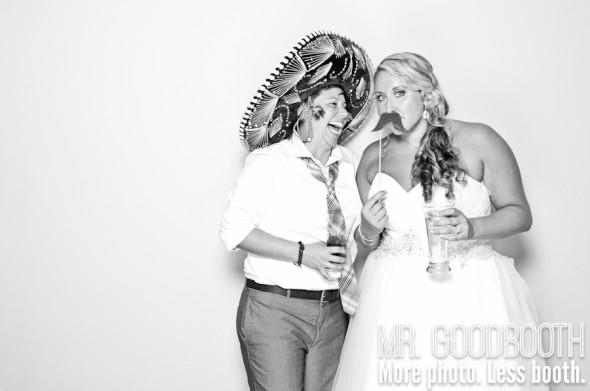 Ashley & Tina | Raleigh Wedding Photobooth