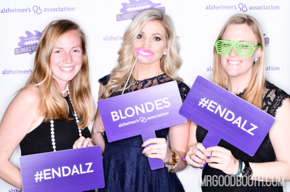 Blondes Vs. Brunettes Raleigh Photo Booth | Mr. Goodbooth